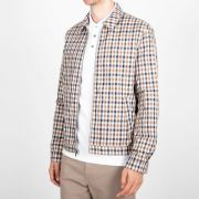 AQUASCUTUM Reversible Vicuna House Check Jacket  Brand New + Tags